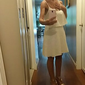 Abercrombie & Fitch White Eyelet Dress